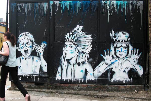 'Paint War' – East London – 2014