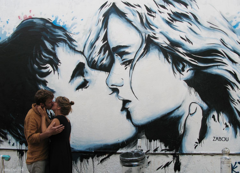 'The Kiss' – Cours Julien, Marseille – 2014