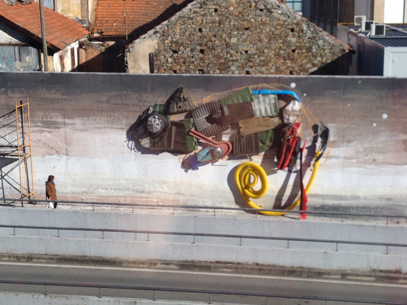 Work In Progress - Bordalo II