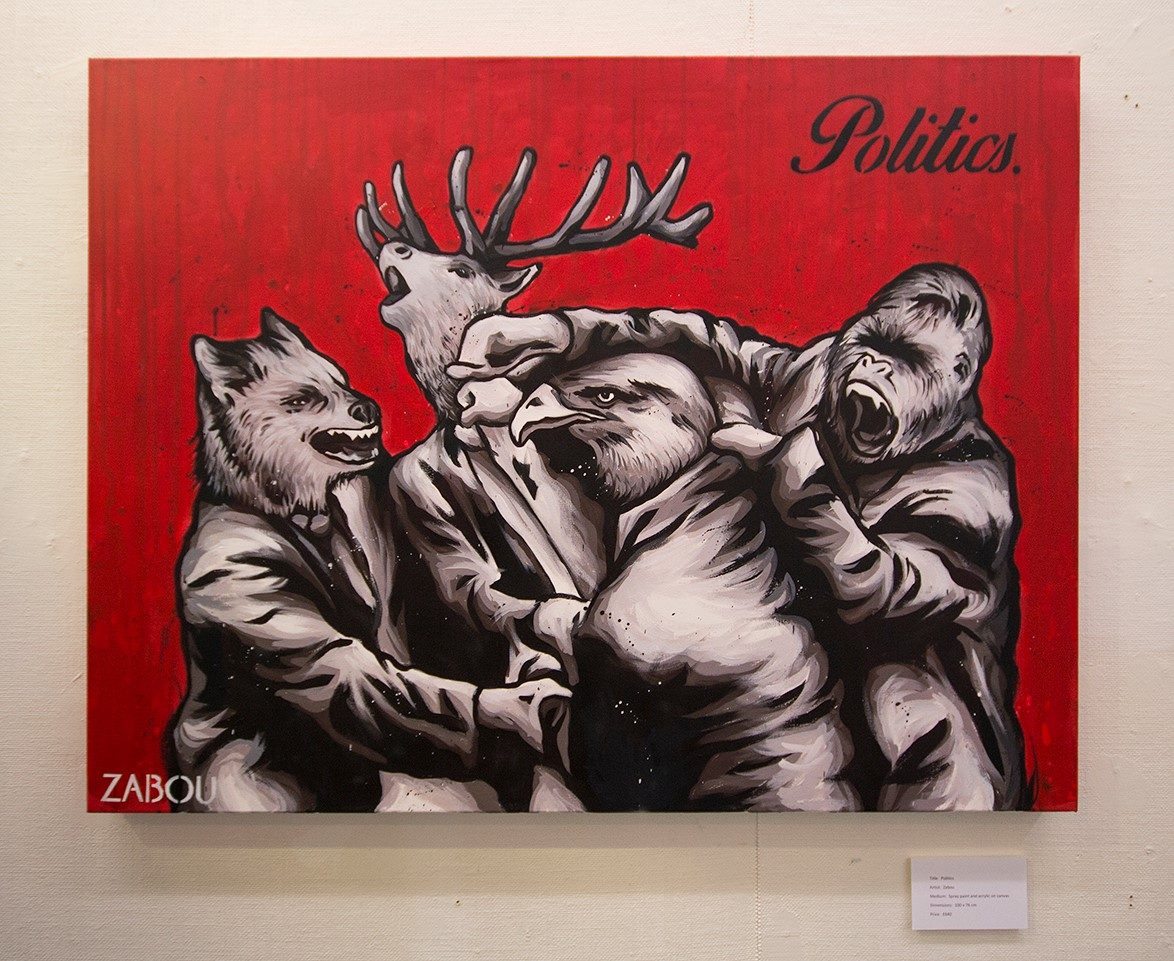 'Politics' By Zabou - Photo By Aga Rzekiecka