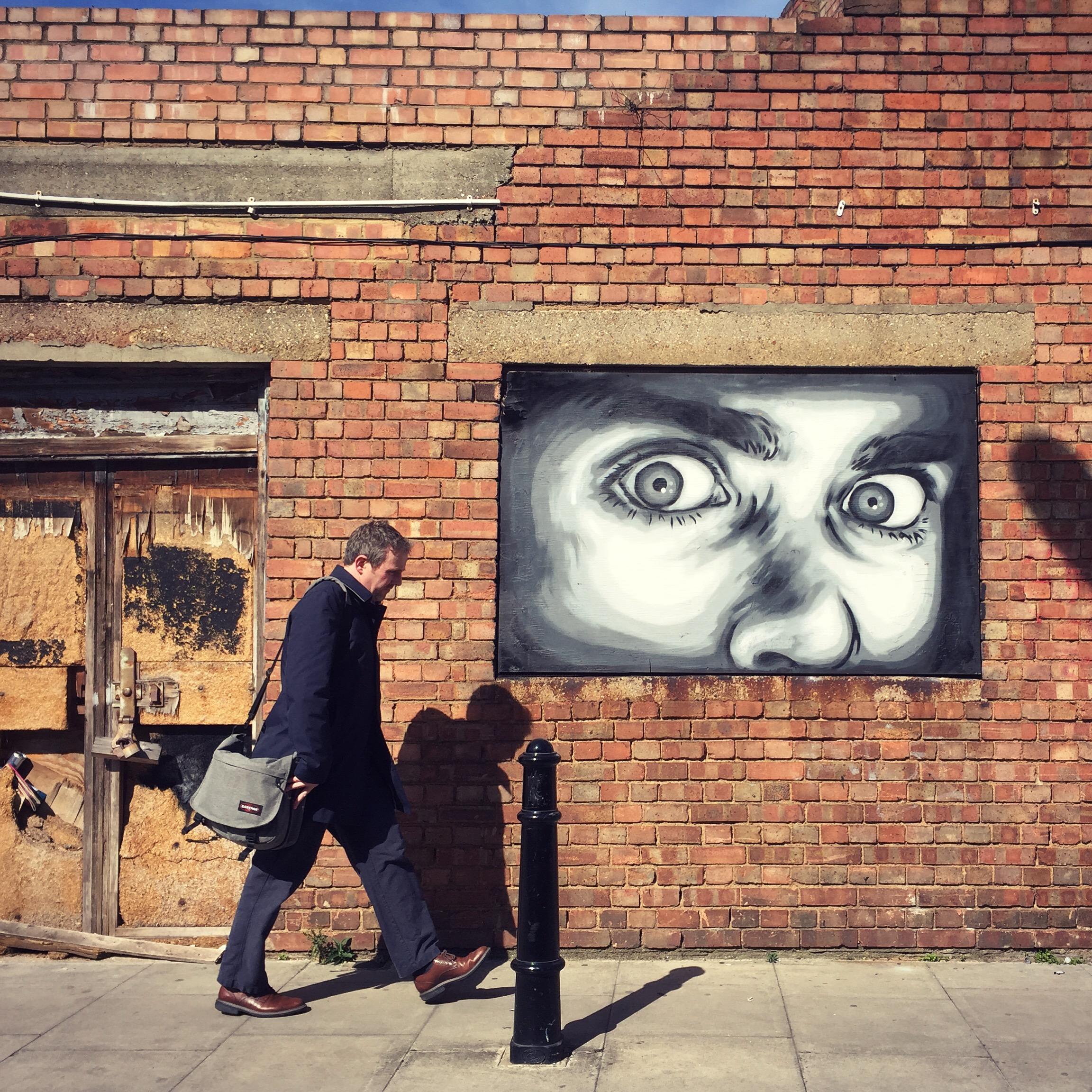 """""""The Eyes"""" – Zabou – London, UK – 2016"""