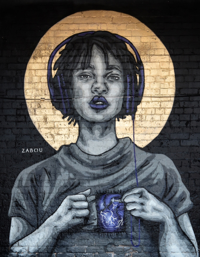 """Plugged In"" – Zabou – 3x3m – Birmingham, UK – 2016"