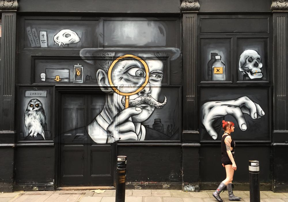 """Cabinet Of Curiosity"" – Zabou – 6x4m – London, UK – 2016"
