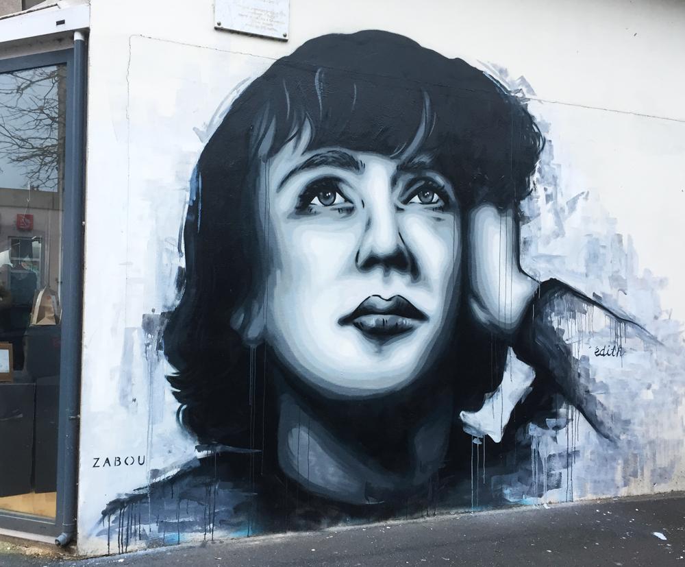 """Edith"" – Zabou – 3x4m – Vitry Sur Seine, France – 2017"