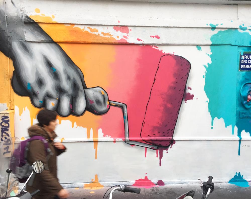 """""""Add More Colours"""" – Zabou – 4x3m – Paris, France – 2017"""