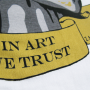 T-SHIRT 'IN ART WE TRUST' #1