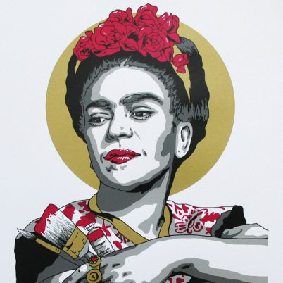 SCREEN PRINT // SÉRIGRAPHIE 'FRIDA'