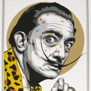 SCREEN PRINT // SÉRIGRAPHIE 'DALI' HAND-FINISHED – LEOPARD