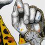 SCREEN PRINT // SÉRIGRAPHIE 'DALI' HAND-FINISHED – LEOPARD