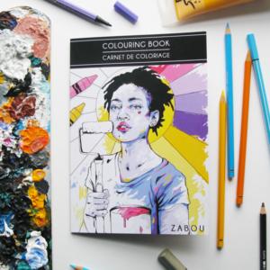 MINI COLOURING BOOK // MINI CARNET DE COLORIAGE #1