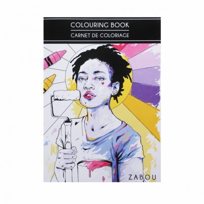 MINI COLOURING BOOK // MINI CARNET DE COLORIAGE #1