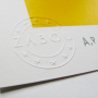 SCREEN PRINT A.P // SÉRIGRAPHIE E.A 'IN ART WE BELIEVE' HAND-FINISHED – BLUE