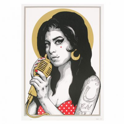 SCREEN PRINT // SÉRIGRAPHIE 'AMY'