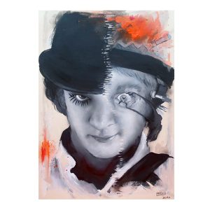 ORIGINAL SKETCH // ESQUISSE 'CLOCKWORK ORANGE'