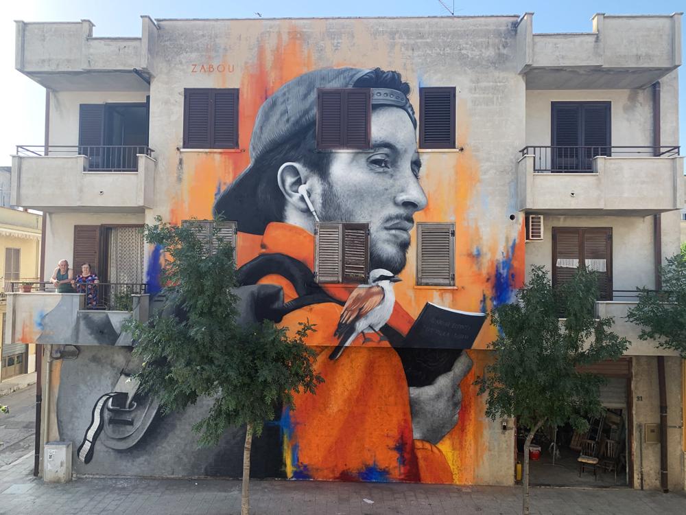 Zabou - Street Art Portrait in Italy