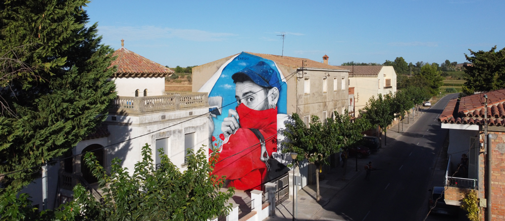Zabou - Street Art Portrait of Bifido