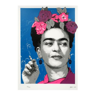 SCREEN PRINT // SÉRIGRAPHIE 'FRIDA SMOKING'