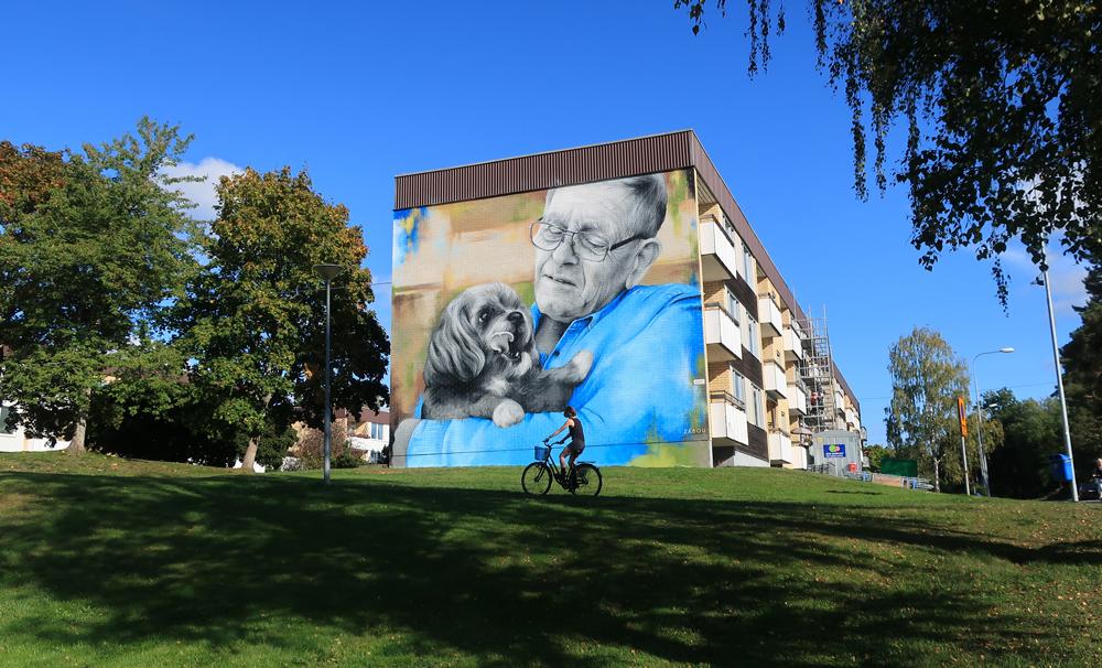 Zabou - Street Art Portrait
