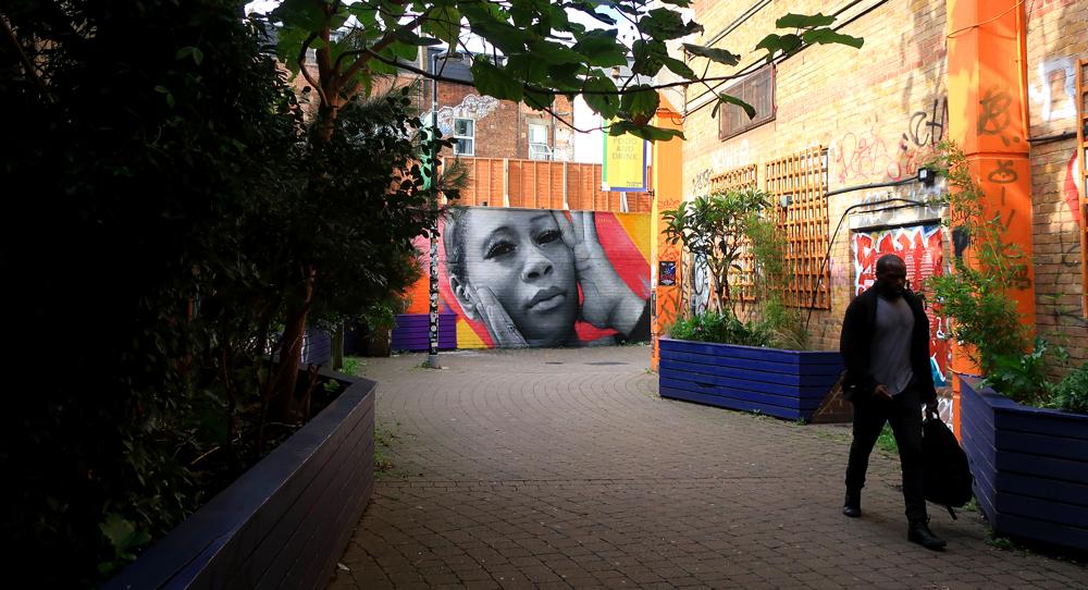 Zabou - Street Art Portrait of Leanne Pero